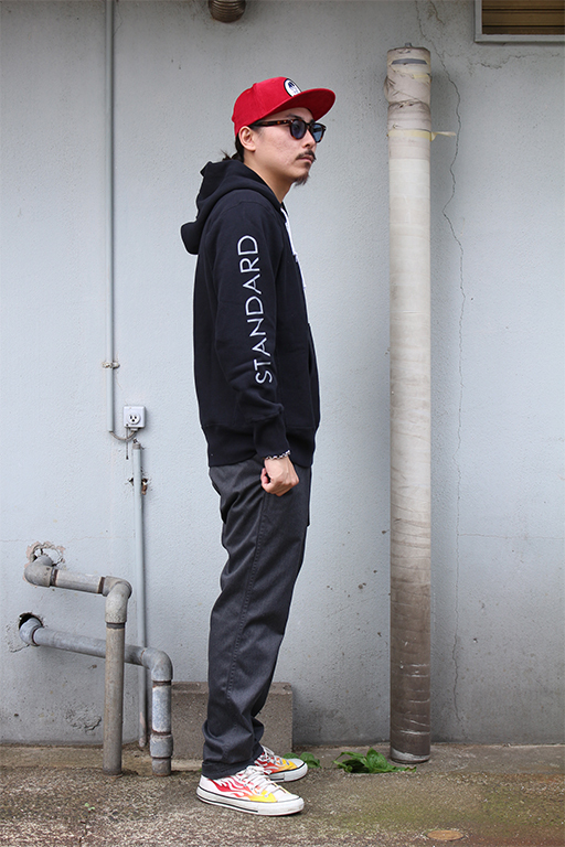 standard california Champion × SD Reverse Weave Half Zip Hood5