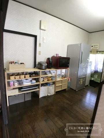 引っ越し後の食器棚整理 (4)