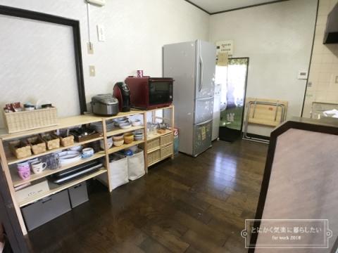 引っ越し後の食器棚整理 (5)