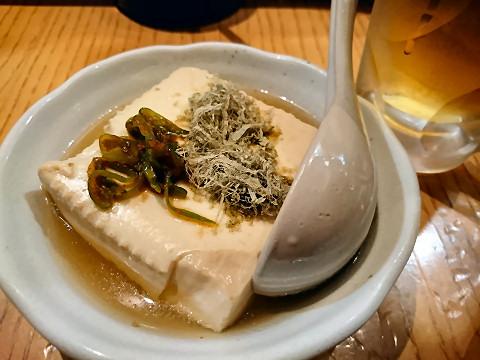 湯豆腐@うろこ屋