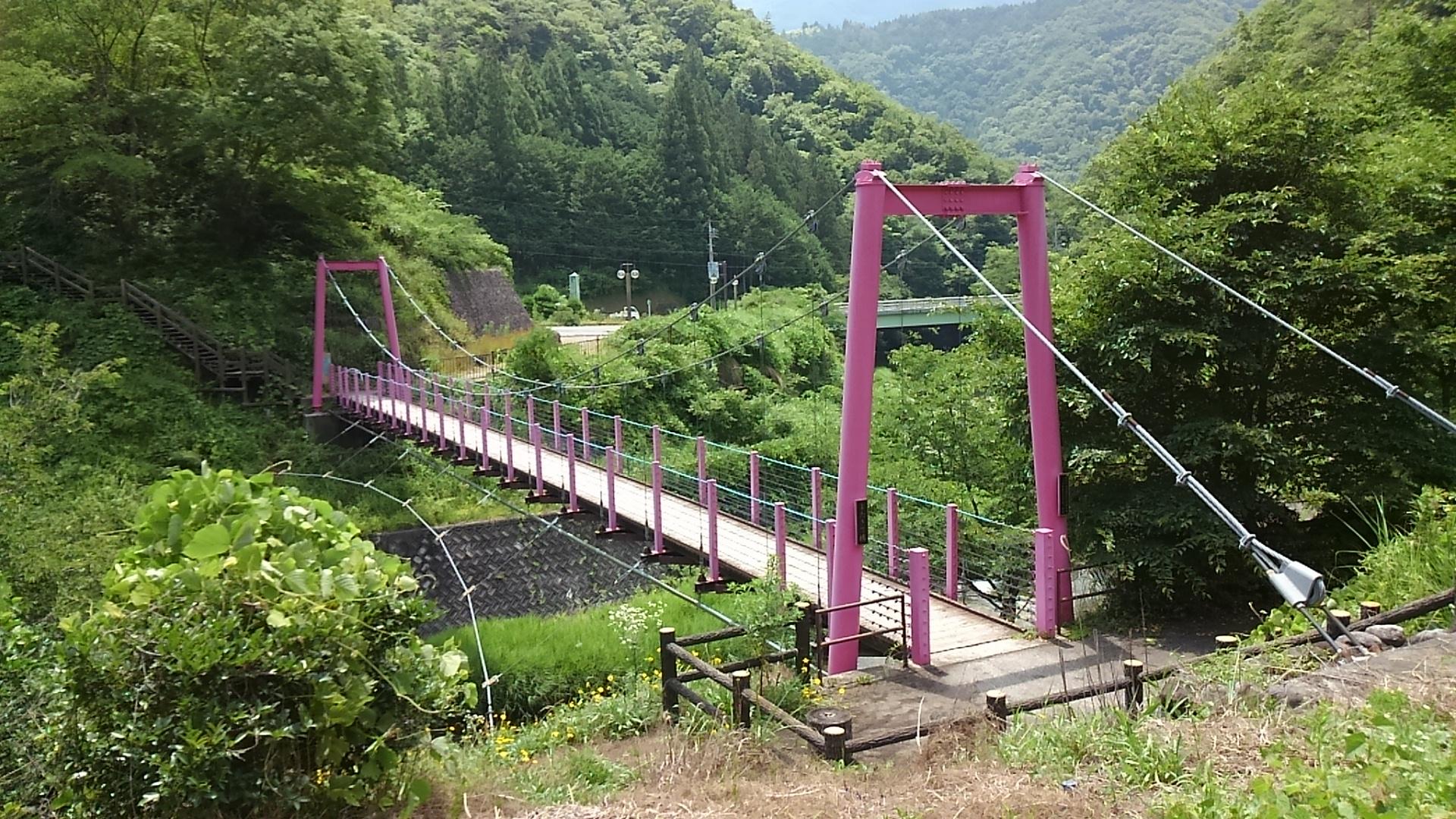 道の駅しもべ 吊り橋