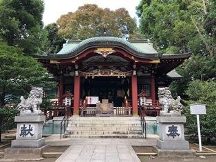 氷川神社(中野区東中野)