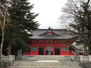 赤城神社(前橋市富士見町)