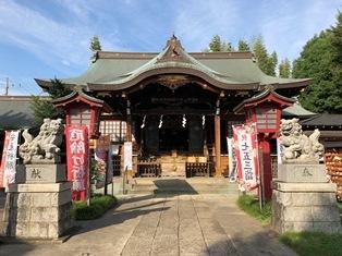 八幡神社(中野区白鷺)
