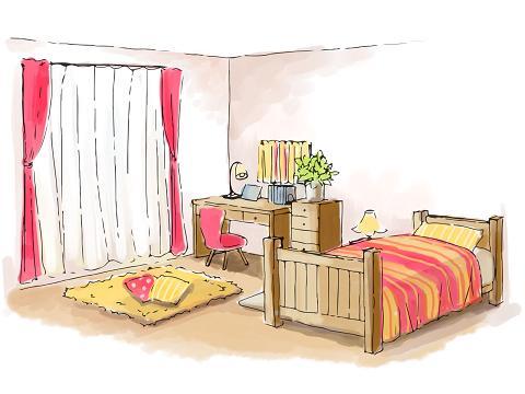 思春期の子供の汚部屋をスッキリと片づけさせる方法