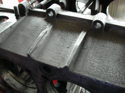 RHエンジン清掃、磨き (2)
