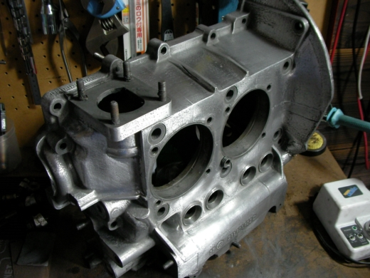 RHエンジン清掃、磨き (7)