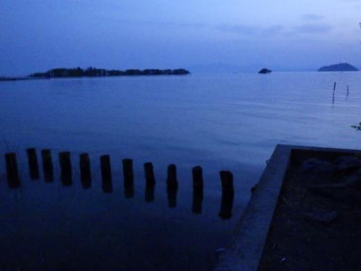 琵琶湖到着 (1)