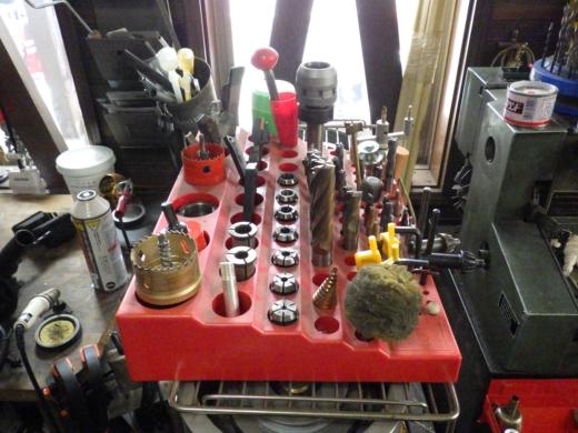 ガレージ整理整頓 (3)