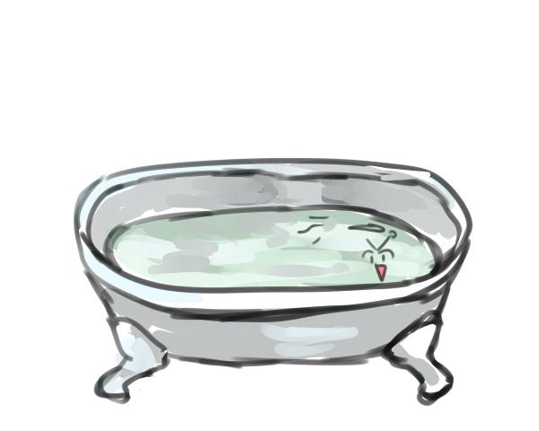 入浴中Bori