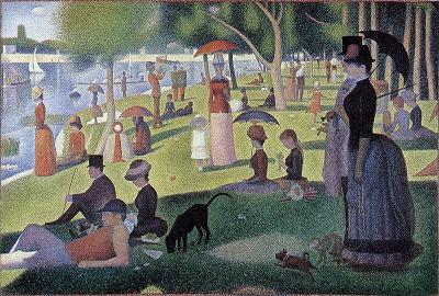 1884グランドジャット島の日曜日の午後