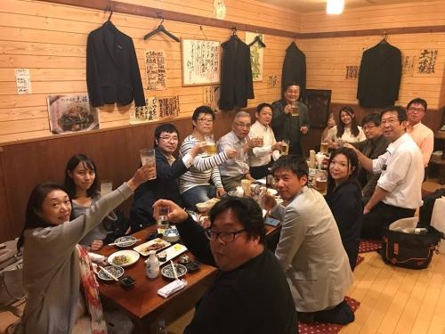第12回産学官民コミュニティ全国大会in高知の前夜祭