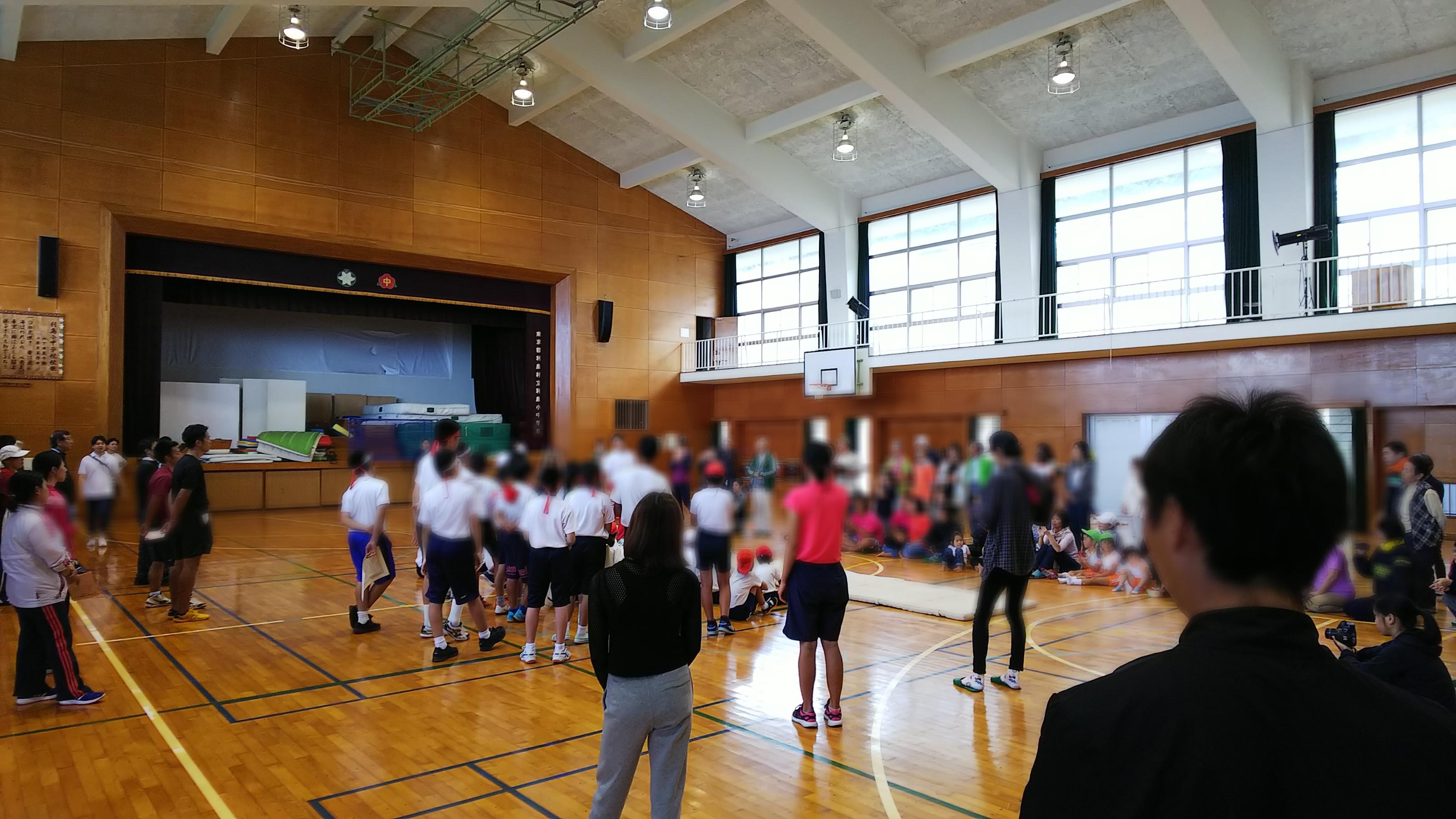 運動会-池谷先生講義