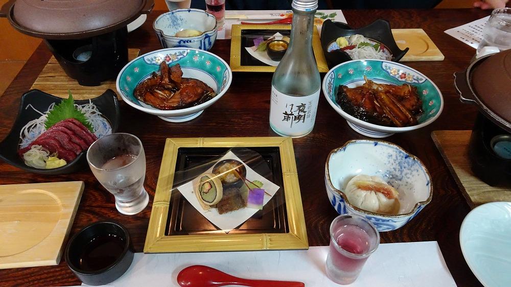 信州平谷 ひまわり館 食事・感想編 (2016年6月)