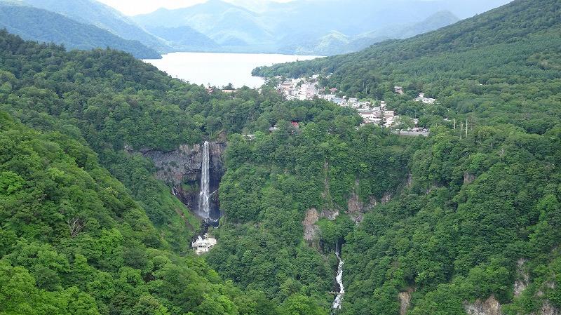 中禅寺湖と華厳の滝 (2016年7月)