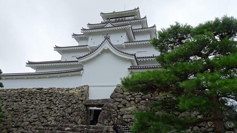 福島県初上陸と会津若松城 (2016年7月)