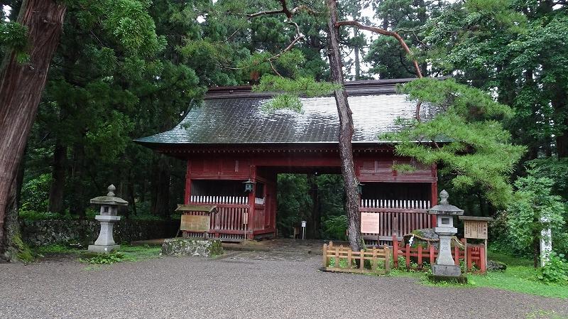 出羽三山 羽黒神社(三神合祭殿) (2016年7月)