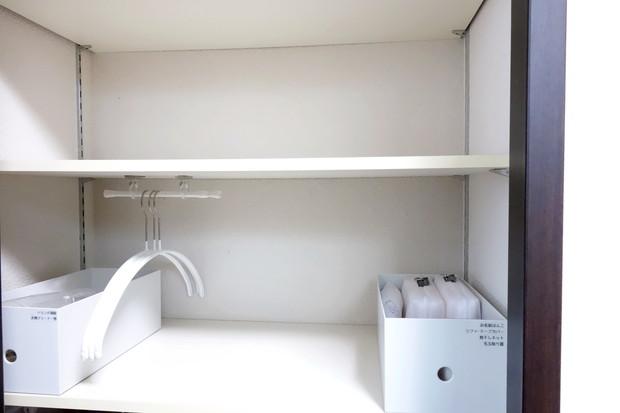 子供部屋・身支度スペース上・洗濯用品収納③