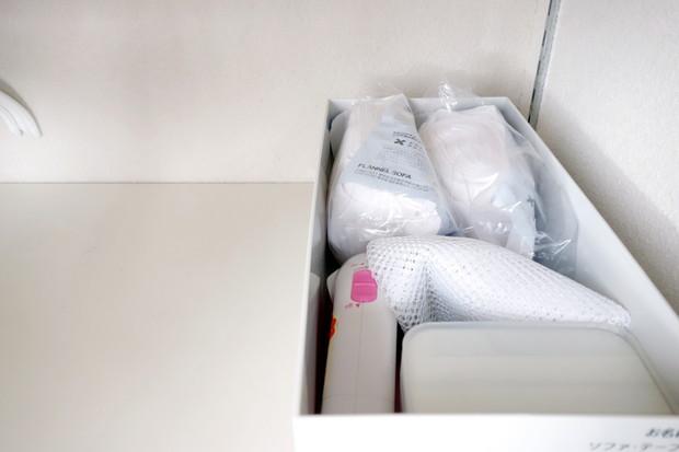 子供部屋・身支度スペース上・洗濯用品収納④