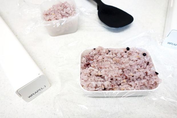 無印・PP整理ボックス・セリア・カトレケース・冷凍ご飯①