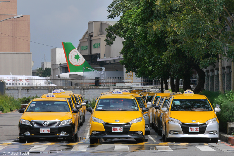 絶景探しの旅 - 0743 台北松山空港タクシー軍団 (台湾 台北市)